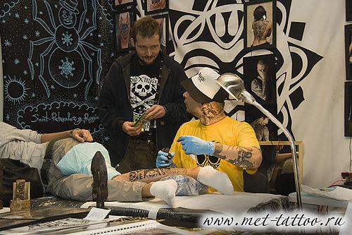 Фото 9-го фестиваля татуировок в Санкт-Петербурге 2011