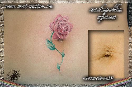 Шрама татуировкой тату для девушек